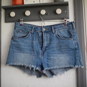H&M High waisted Cheeky shorts